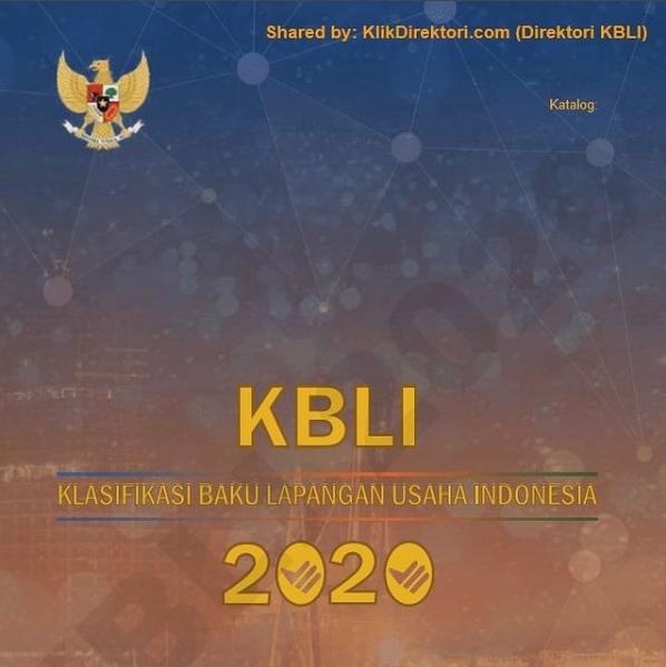 klasifikasi baku lapangan usaha indonesia 2020